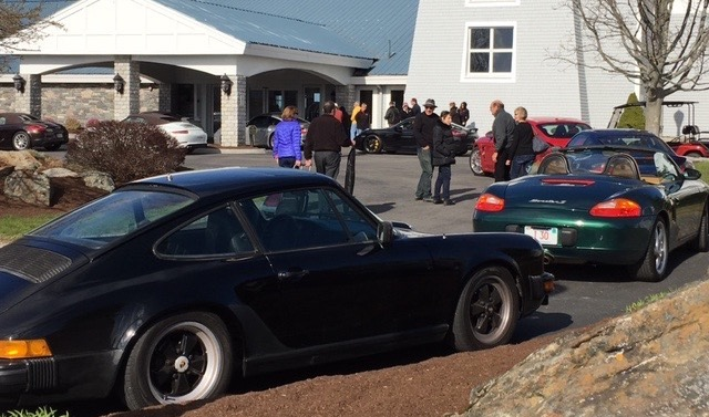 Northeast region porsche club Ramble 2019 driving tour chatham bars inn cape cod