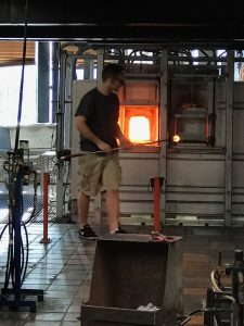 Porsche Club Treffen 2019 Vermont glass blowing Simon Pearce