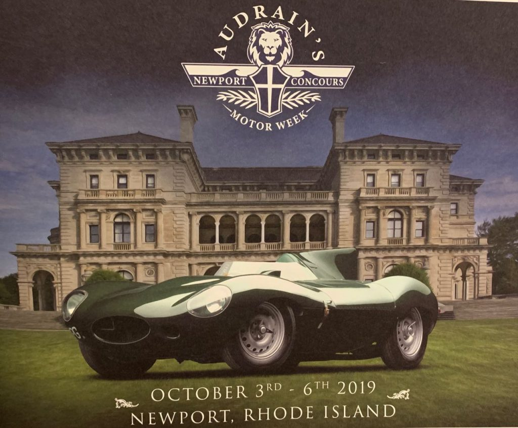 Audrain's Newport Concours and Motor Week brochure