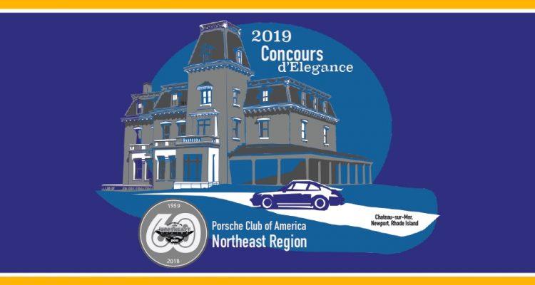2019 NER Concours Newport RI Chateau-sur-Mer