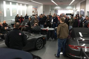 ner winter warmer event at herb chambers porsche commonwealth avenue boston ma