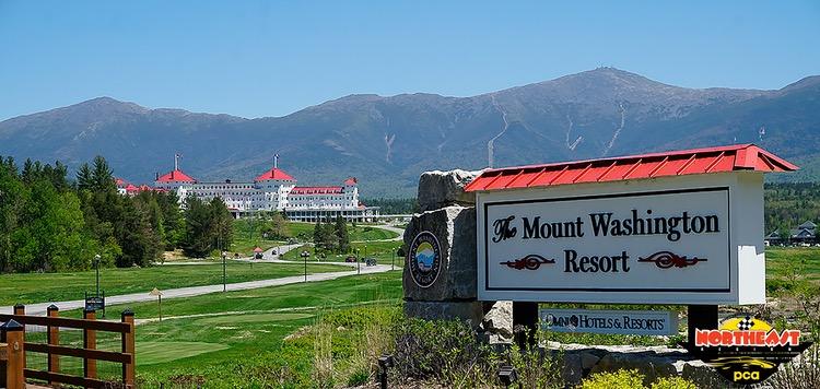 NER Porsche Club event 2021 Ramble Bretton Woods New Hampshire April 2021