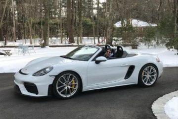 Joe Cracco Porsche 2021 Spyder