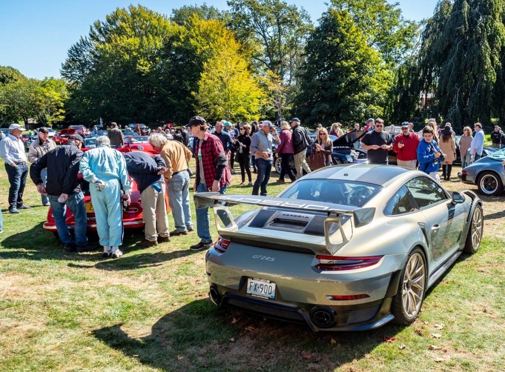 Porsche Concours 2019 at Chateau Sur Mer